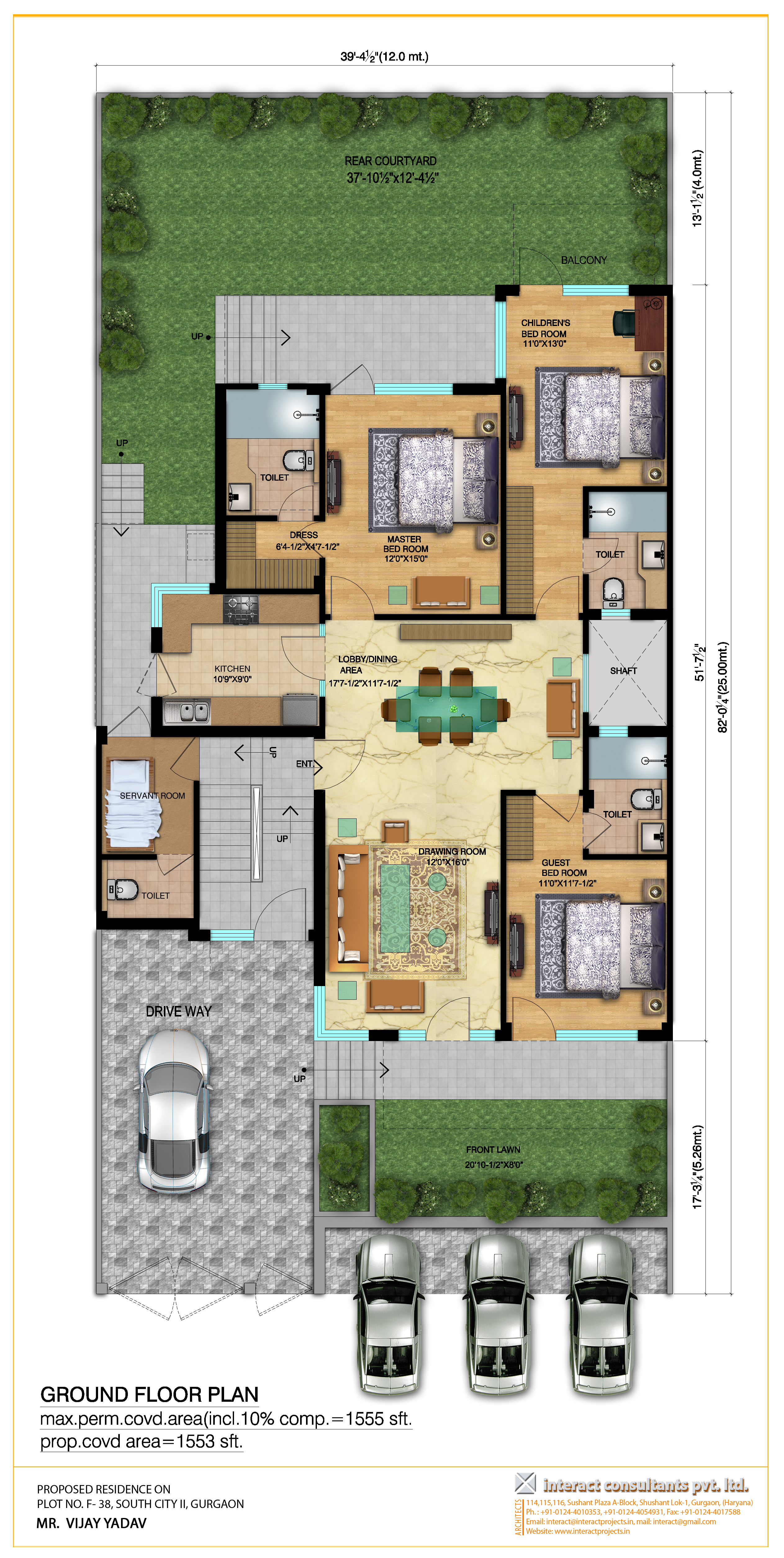 luxury builder floor south city ii sohna road gurgaon about project site plan